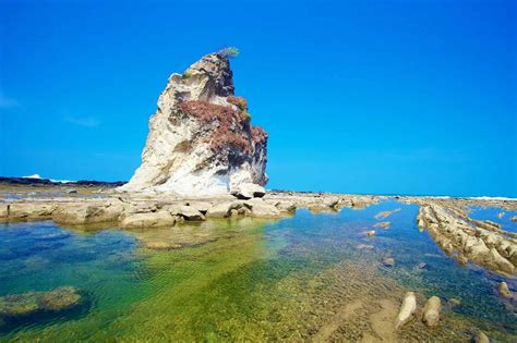 sawarna beach  southern treasure indonesiatravel