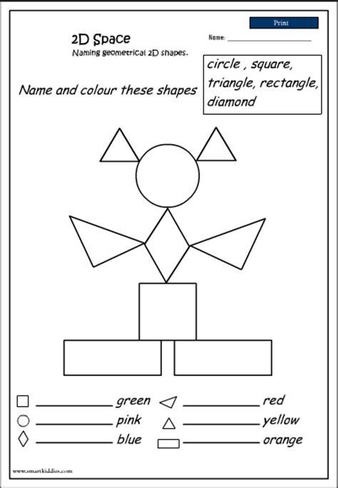 naming 2d shapes mathematics skills interactive
