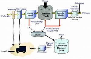 Typical Municipal Wastewater Treatment Process