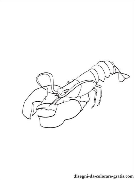 disegni aragosta da colorare  stampare disegni da