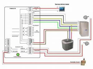 Need Wiring Assistance For Thermostat Swap Change Wiring Diagram