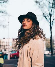 Men with Long Curly Hair