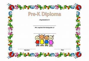 pre kindergarten diploma certificate 2jpg best With pre k award certificate templates