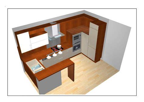 plan de cuisine ouverte idees d 39 agencement cuisines ouvertes