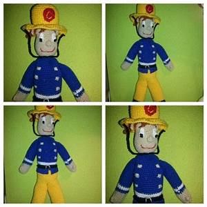 Feuerwehrmann Sam Decke : crochet fireman sam h keln pinterest h keln und stricken ~ Buech-reservation.com Haus und Dekorationen
