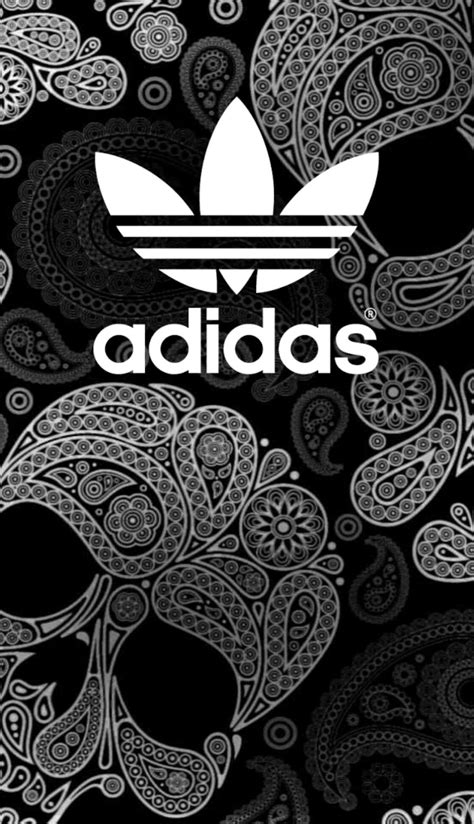 Android Iphone Adidas Cool Wallpapers by Adidas Black Wallpaper Android Iphone Pattern