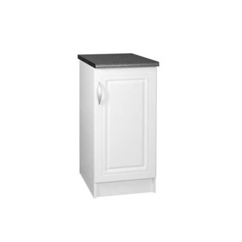 meuble bas 30 cm cuisine meuble bas de cuisine dina 30 cm 1 porte 1 étagère