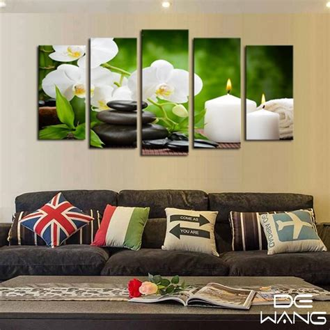 49,342 massage decor products are offered for sale by suppliers on alibaba.com, of which other home decor accounts for 1%, christmas decoration supplies accounts for 1%, and wallpapers/wall coating. Massage Hot Stones And Flowers - Nature 5 Panel Canvas Art Wall Decor - Canvas Storm