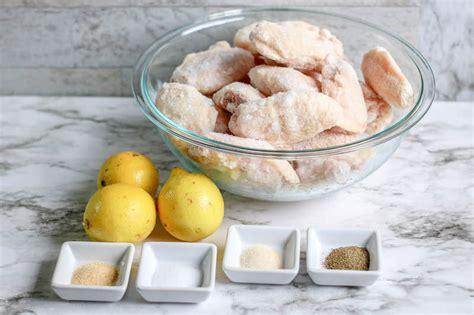 fryer air wings pepper lemon chicken recipe baked