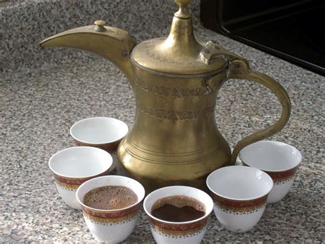 Arabic Coffee As A Welcome Drink In Desert Coffee Liqueur Cake Extract Cuban Key Largo Richmond Va Mini Milk Vodka Kahlua Recipe With Rum