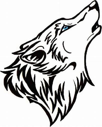 Wolf Waterslide Decals Howling Vlk Nail Na