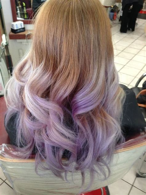 Lavender Ombré Yelp Hairables Pinterest Pastel