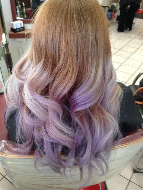 lavender ombre yelp hairables   dip dye hair