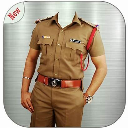 Police Suit Editor App Photofunny Khaki Pixiz