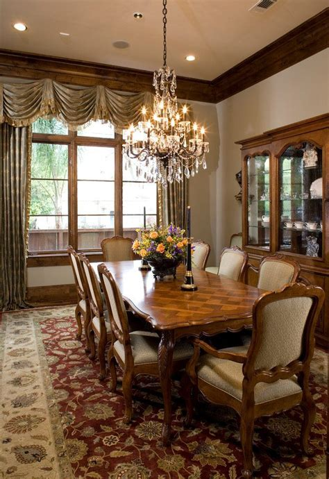 black crystal chandelier dining room traditional with wood