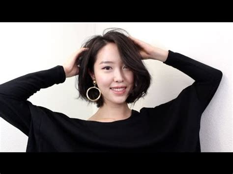 short hair styling tutorial youtube