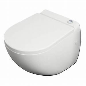Wc Avec Broyeur : banio design cuvette suspendue avec broyeur ~ Edinachiropracticcenter.com Idées de Décoration