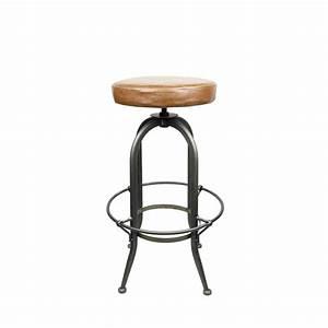 Chaise Bar Reglable : tabouret de bar r glable vintage alhena par ~ Teatrodelosmanantiales.com Idées de Décoration