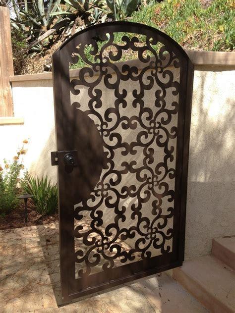 metal gate pedestrian walk thru custom italian wrought