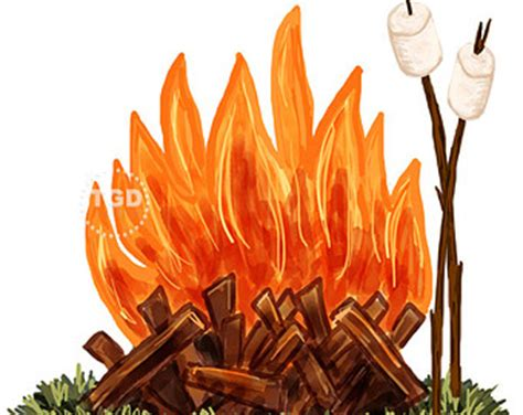 Bonfire Clipart The Bonfire Clipart Clipground