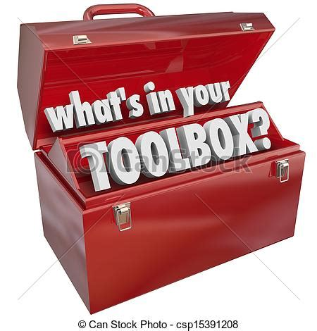 What's In Your Toolbox Red Metal Tool Box Skills Experience The Question What's In Your Toolbox