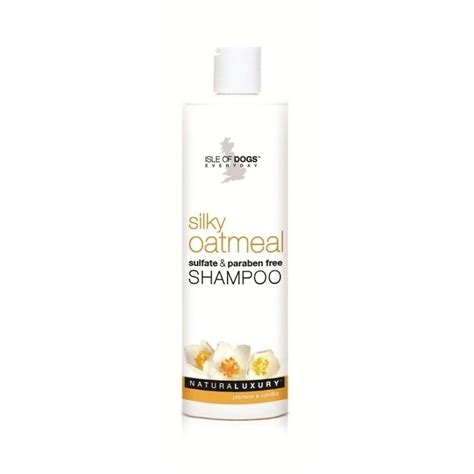 isle  dogs silky oatmeal shampoo schaumzeug