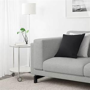 Ikea Sofa Weiß : nockeby 3er sofa tallmyra wei schwarz holz ikea schweiz ~ Watch28wear.com Haus und Dekorationen