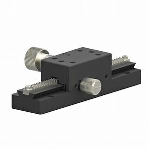 X Axis Dovetail Manual Slide Slot Gear Fine Adjustment