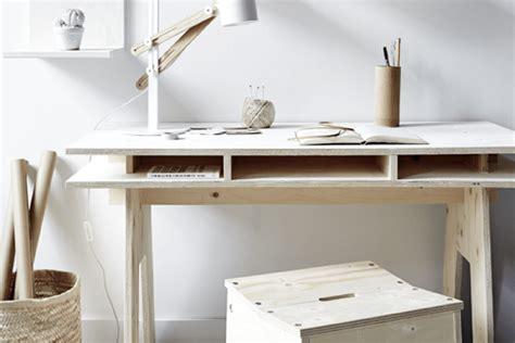 bureau design pas cher diy fabriquer un bureau design et pas cher tout en bois