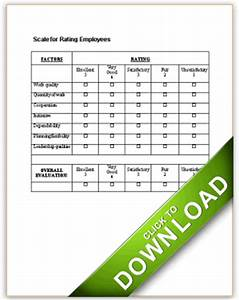 Sample Layoff Letter Scale For Rating Employees