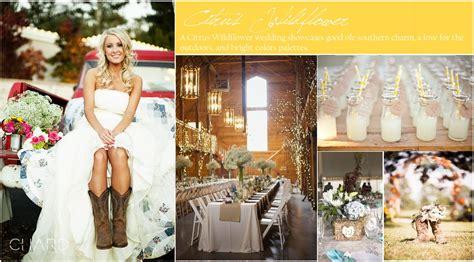 Country Wedding Inspiration Board