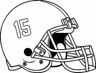 Football Coloring Helmet Pages Alabama College Drawing