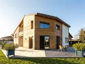 Une Maison Bioclimatique En Bois Et B U00e9ton