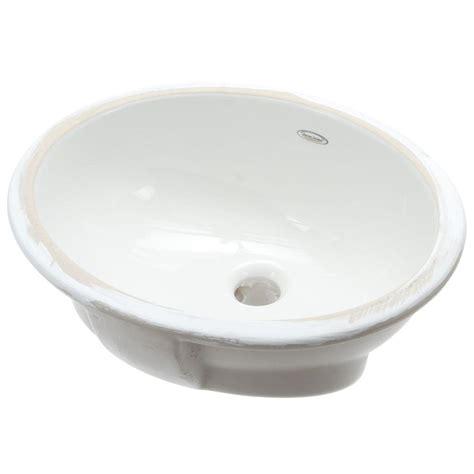american standard undermount american standard ovalyn undermount bathroom sink in white