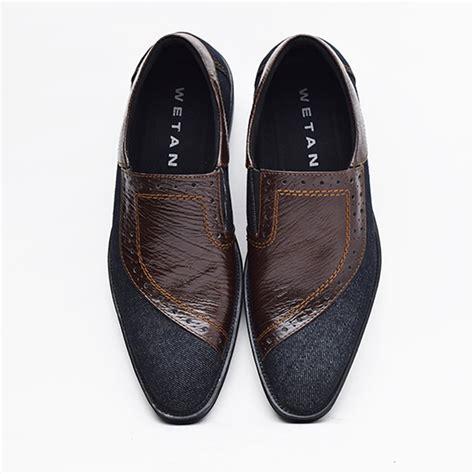 jual sepatu pantofel pria casual formal desain unik dan elegan di lapak wetan store wetanstore