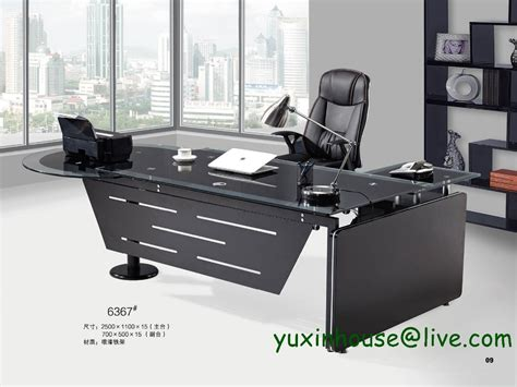 glass desk for sale sale tempered glass office desk boss desk table
