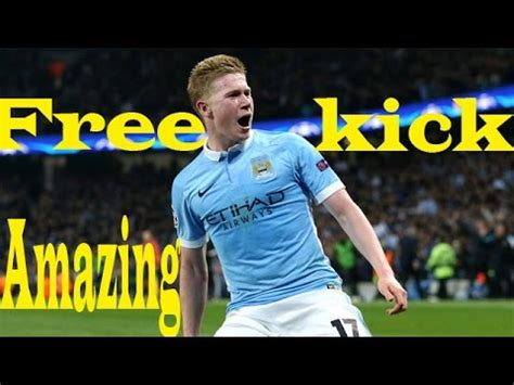 Kevin de bruyne free kick goal ♦ against barcelona ...