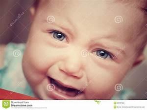 Sad Cryig Little Baby Stock Photo - Image: 50197353