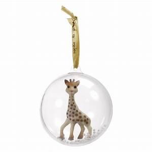 Ma Premiere Boule De Noel : boule de no l sophie la girafe sophie la girafe de vulli accessoires d co aubert ~ Teatrodelosmanantiales.com Idées de Décoration