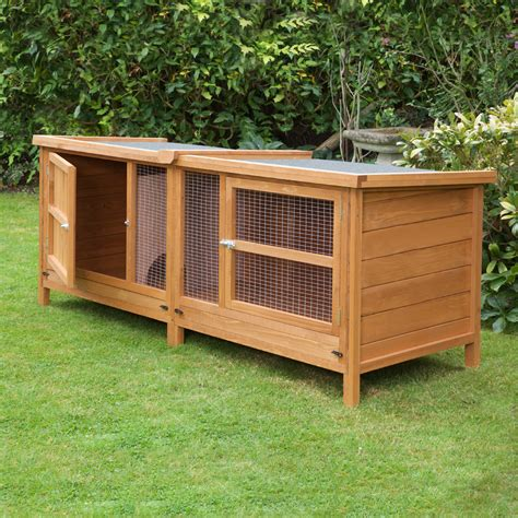 where to buy rabbit hutch home roost deluxe 5ft chartwell single rabbit hutch
