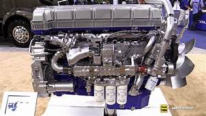 2018 Volvo D13 Diesel Engine - Walkaround