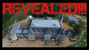 TOP Secret Illuminati Pensmore Mansion REVEALED by Drone ...