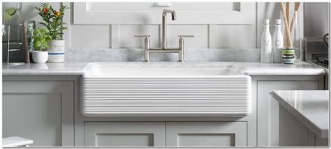 white apron front kitchen sink apron front kitchen sink white sink and faucet home 1746