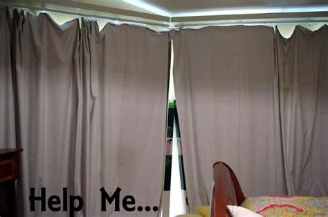 Luna Grey Blackout Eyelet Curtains