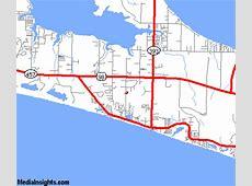 Santa Rosa Beachcom Map
