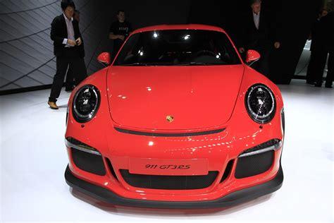 This is where porsche got serious about aerodynamics. Photos Porsche 911 Type 991 Gt3 Rs - Caradisiac.com