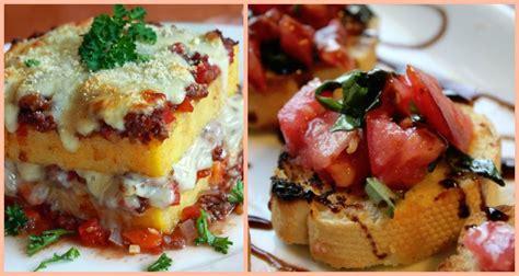delicious italian menu ideas   quince quinceanera