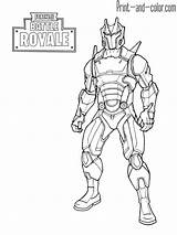 Fortnite Coloring Omega King Ice Boys Coloriage Royale Battle Skins Dibujos Printable Dessin Ausmalbilder Pintar Kleurplaat Colorear Sheet Raven Imprimir sketch template