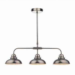 Dynamo light bar pendant antique chrome