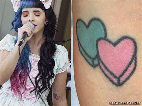 melanie martinez candy heart heart elbow tattoo steal